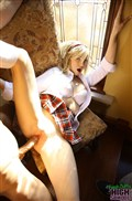 Tracey Sweet cute blonde gets banged in schoolgirl uniform from New Sensations