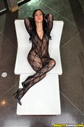 Valerie Kay gets dicked in her crotchless body stocking